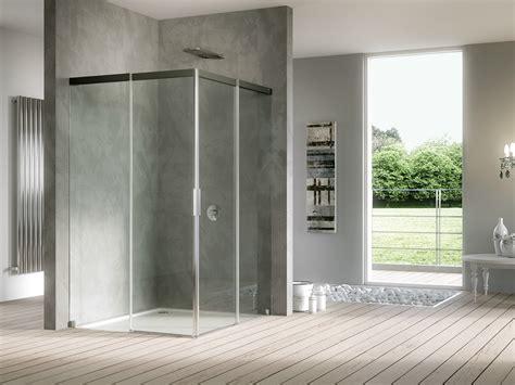 porte in cristallo per doccia box doccia in cristallo con porte scorrevoli acqua 5000