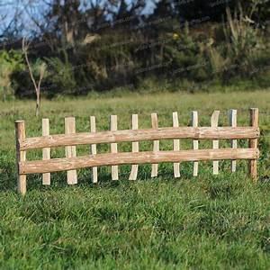 Cloture Et Jardin : cloture bois noisetier planter x ~ Nature-et-papiers.com Idées de Décoration