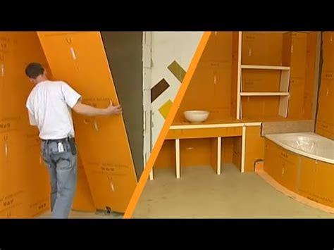 schlueter kerdi board installation youtube
