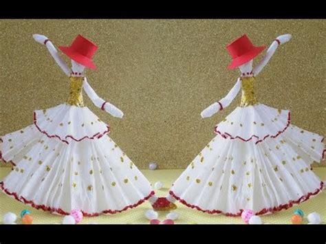 diy paper crafts    amazing dancing doll