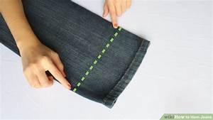 Faire Ourlet Jean : 3 ways to hem jeans wikihow ~ Melissatoandfro.com Idées de Décoration