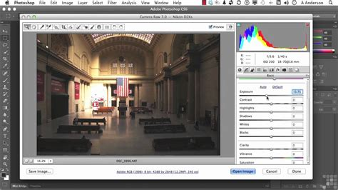 adobe photoshop cs tutorial image correction  camera
