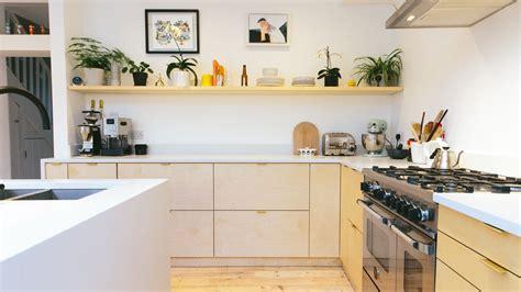 ikea kitchen cabinets hacked  plywood   company