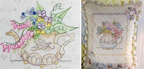 designs  crayon coloring embroidery stitchin