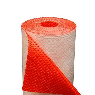 Tile Underlayment Membrane Home Depot by Shur Trim Loxcreen Tile Underlayment 82 X 3 28 Ft Roll