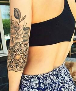 Idée De Tatouage Femme : tattoo mandala bras femme id es de tatouages et piercings ~ Melissatoandfro.com Idées de Décoration