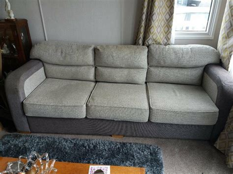 Caravan Sofas by 3 Seater Sofa Bed Out Of Static Caravan Also 2 Seater 8