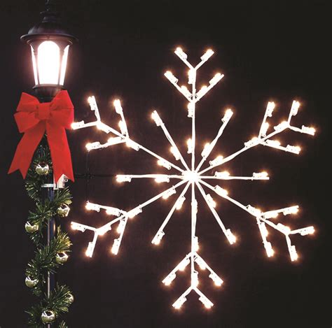 holiday light pole decorations christmas made in the usa