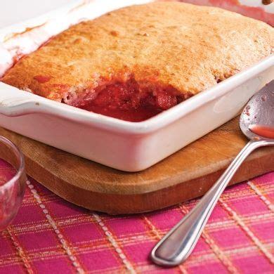 cuisine rhubarbe pouding aux fraises et rhubarbe recettes cuisine et