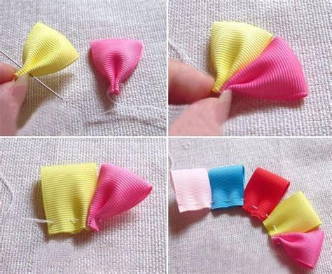 how to make baby hair how to make baby ribbon hair ties how to make a ribbon