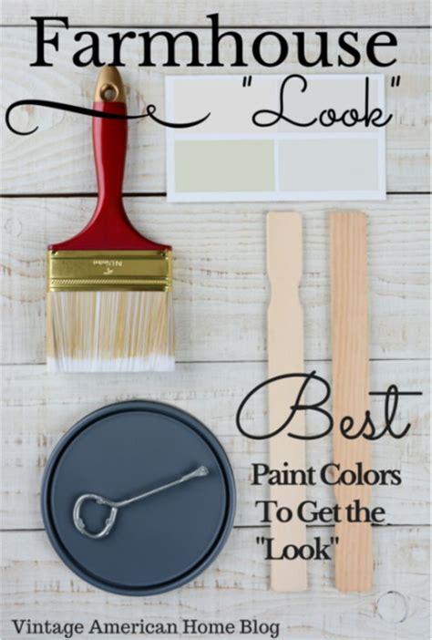 fixer farmhouse look paint colors decorate like
