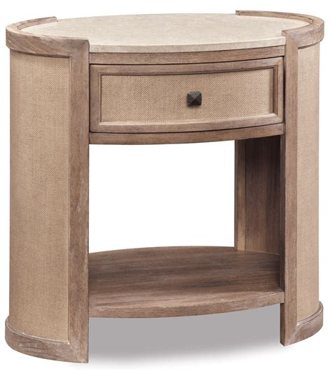 Oval Nightstand by Ventura Oval Nightstand From 192142 2303 Coleman
