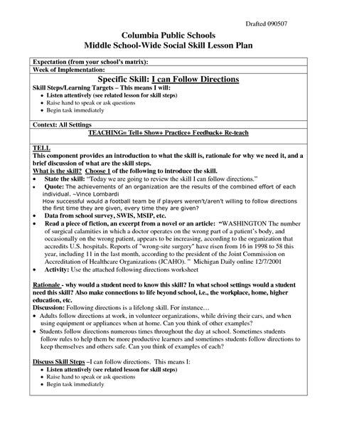 6 Best Images Of Following Directions Worksheets  School Following Directions Worksheet, Free