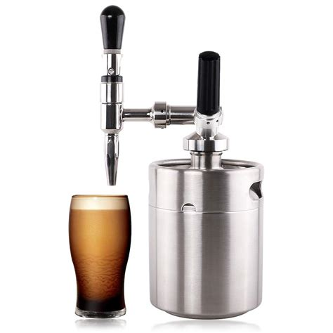 To enjoy hot, mix 1 part coffee concentrate with 2 parts boiling water (adjust to taste). Lamtor Nitro Cold Brew Coffee Maker 64 OZ Mini Stainless ...