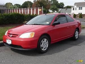 Honda Civic 2002 : 2002 rally red honda civic lx coupe 19362592 car color galleries ~ Dallasstarsshop.com Idées de Décoration