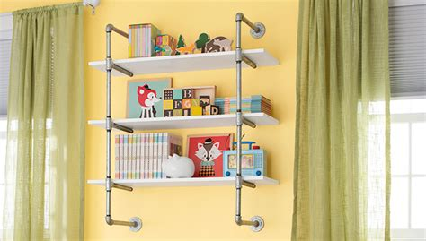 tips  making  diy industrial pipe shelving unit page