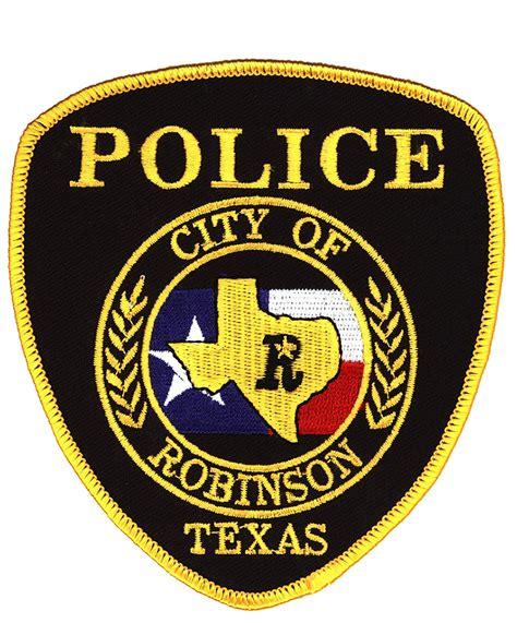 robinson texas police department leb