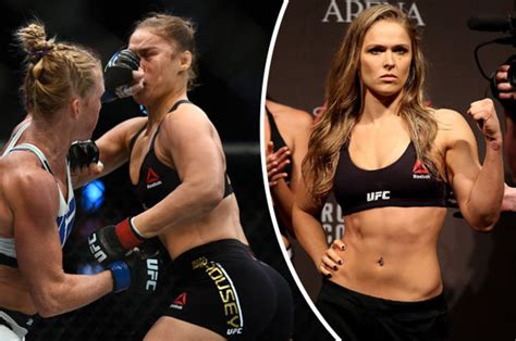 ronda rousey  ill    holly holm ufc