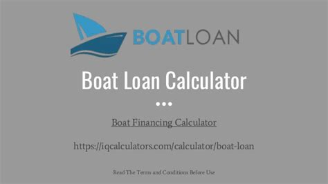 E Boat Loan Calculator boat loan calculator boat loan payment calculator