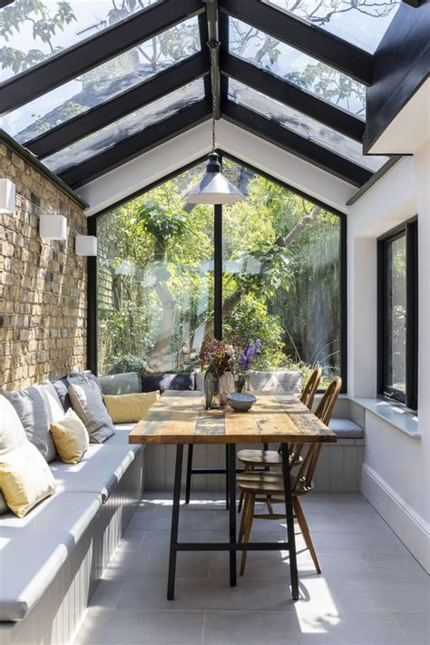 House Kitchen Breakfast Room And Deck by 46 Smart And Creative Small Sunroom D 233 Cor Ideas Digsdigs