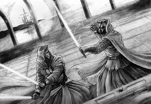 Darth Revan vs Darth Nihilus by clarkspark on DeviantArt