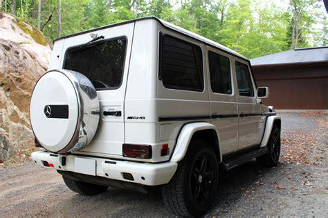 mercedes jeep white chalet des franciscains mont tremblant quebec canada