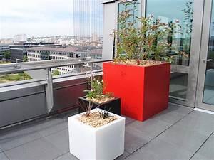 Bac Plantes Exterieur Castorama : fleurs en pot sur terrasse cool corbeilles duargent with ~ Dailycaller-alerts.com Idées de Décoration
