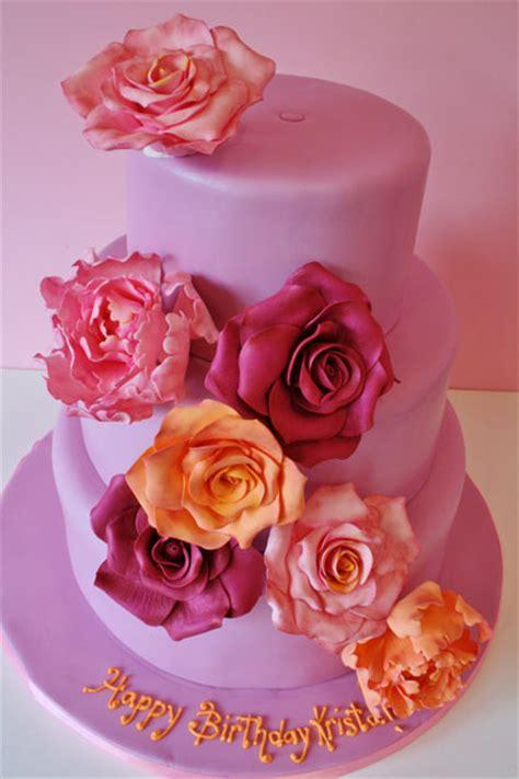 Birthday Cakes New Jersey  Sugar Flowers Custom Cakes