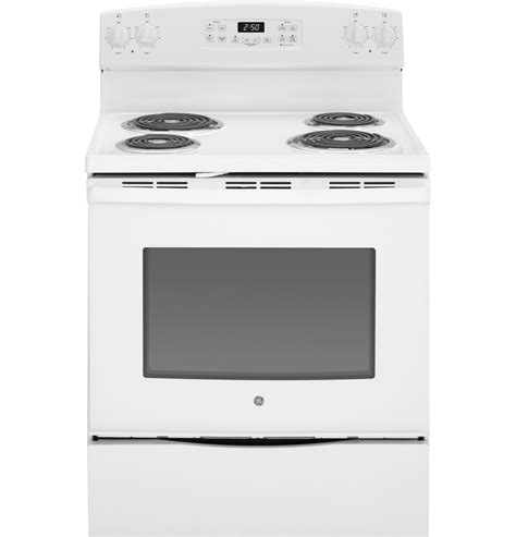 slide in gas range reviews ge 30 quot free standing electric range jb250dfww ge