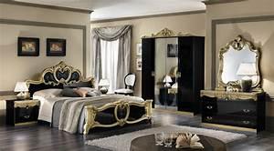 Design Schlafzimmer Komplett : komplett m bel schlafzimmer barocco schwarz gold italien hochglanz top ebay ~ Bigdaddyawards.com Haus und Dekorationen