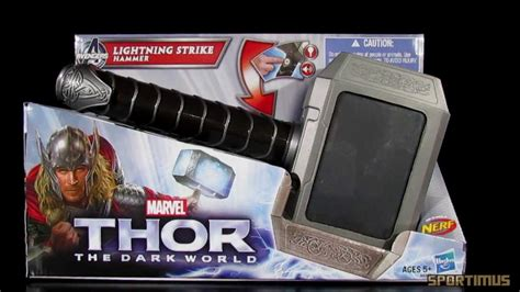 thor the dark world lightning strike hammer role play toy