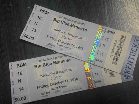 Vivid Seats  Big Blue Madness Sport Ticket Review From