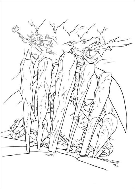 kids  funcom  coloring pages  thor