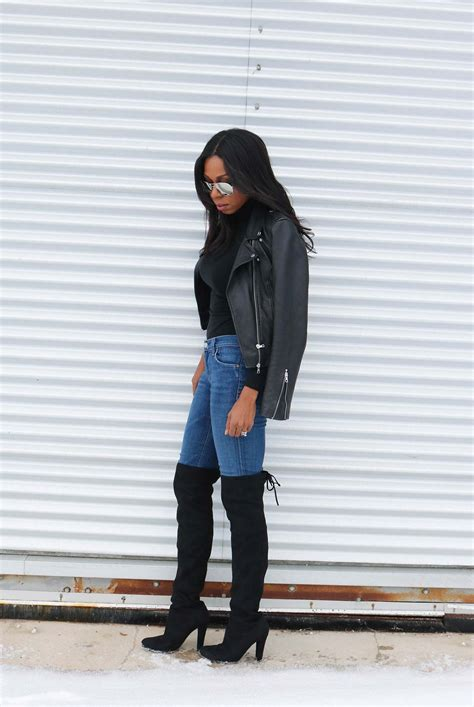 How To Wear Jeans With Tall Boots | The Jeans Blog