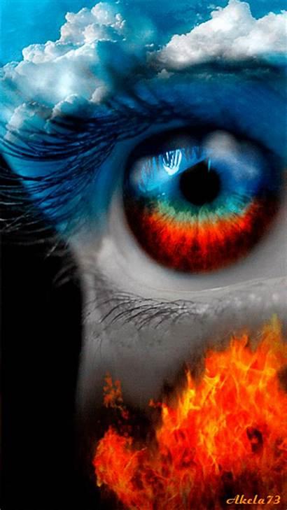 Eye Hell Heaven Eyes Animated Gifs Animation