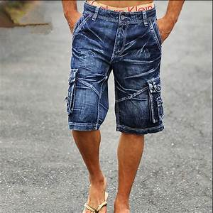 Online Buy Wholesale denim cargo shorts from China denim cargo shorts Wholesalers | Aliexpress.com