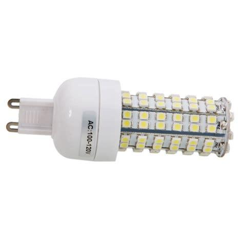 g9 4w 108led smd3528 6000k white led corn light bulb 100