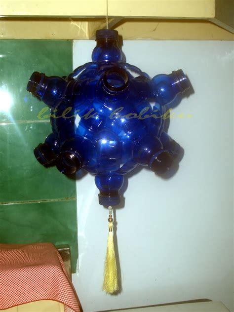 kerajinan lampu botol aqua myideasbedroomcom