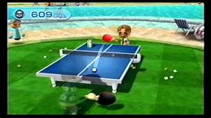 Wii Sports Resort Table Tennis Return Challenge - 999 Pts. - YouTube  Table Tennis Sports