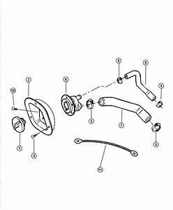 Jeep Wrangler Cap  Fuel Filler  Locking  Tetheredlocking