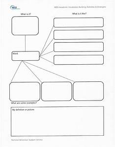 18 vocabulary graphic organizers images frayer model With graphic organizers template word