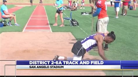 District 2-6A Track and Field: Day One