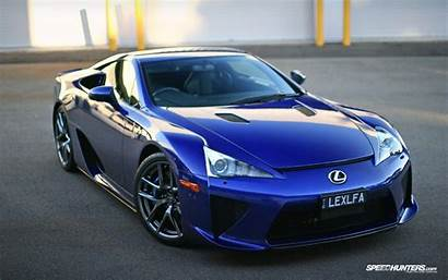 Cars Lexus Wallpapers Lfa Coches Azules Pc