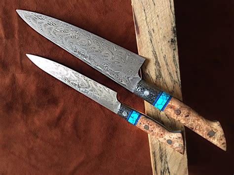 Custom Kitchen Knives For Sale by Handmade Steel Kitchen Custom Chef Knives In Houston Tx
