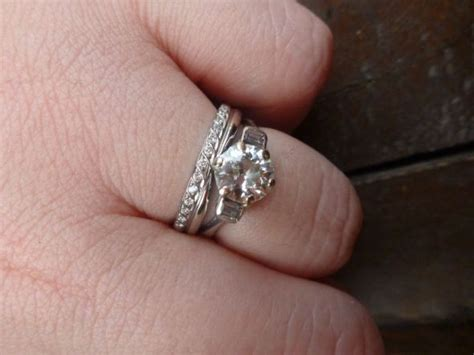 any other brides here with a quot deco quot vintage inspired ring