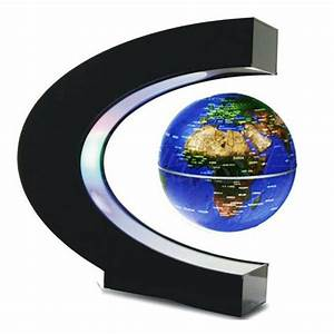 Novelty Home Desktop Decor Floating Globe Magnetic Field