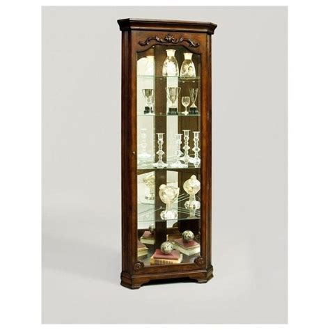 Pulaski Corner Curio Cabinet 20206 by Corner Curio Cabinet Usa