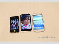 Samsung Galaxy S III vs HTC One X Handson SlashGear