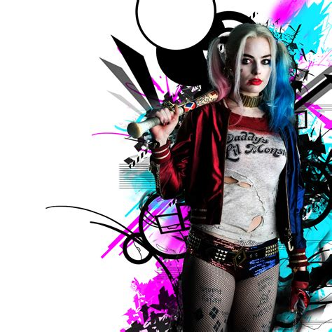 Browse millions of popular harley wallpapers and ringtones on us $12.2 41% off|5 pcs harley quinn cosplay costumes 2018 kids girls purim coats femme jacket chamarras de batman para mujer suit with. 2048x2048 Harley Quinn HD Ipad Air HD 4k Wallpapers ...