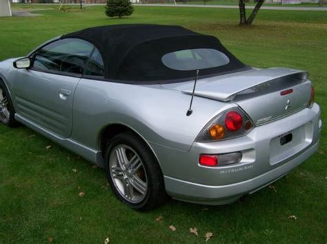2003 Mitsubishi Eclipse Gt Specs by Buy Used 2003 Mitsubishi Spyder Gt Eclips Conv